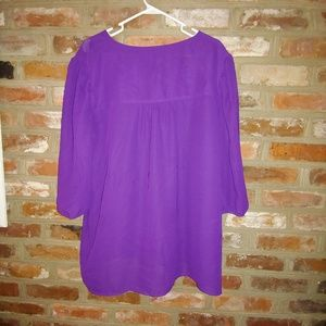Women's Coldwater Creek Purple Blouse